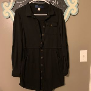 Black button up tunic!